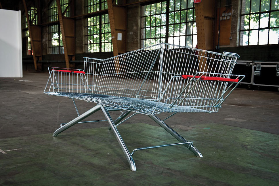 shopping-cart-bench-incubate-Etienne Reijnders